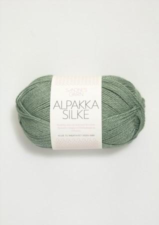 Alpakka Silkegarn