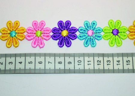 Blomsterbånd 25mm